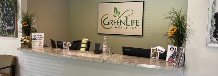 Chiropractic Greenville SC Receptionist Desk